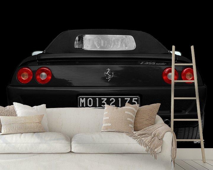 Impression: Ferrari F355 Spider vue arrière sur aRi F. Huber