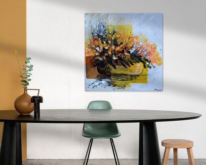 Sfeerimpressie: Ikebana van pol ledent
