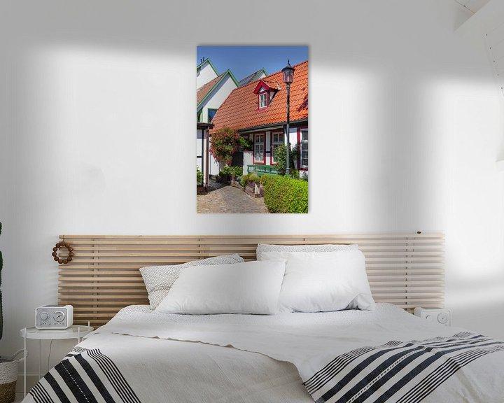Beispiel: Rostock-Warnemuende : historisches Haus in der  Altstadt von Torsten Krüger