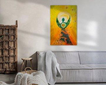Engel im Licht von Carmen Eisele