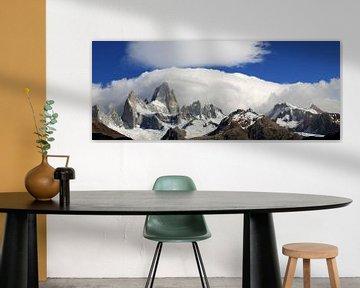 Berg panorama van Antwan Janssen