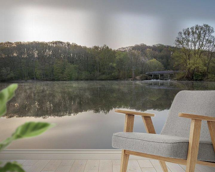 Sfeerimpressie behang: Zonsopkomst op een mooie lente ochtend in de Cranenweyrer van John van de Gazelle