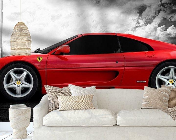 Sfeerimpressie behang: Ferrari F355 GTS F1 van aRi F. Huber