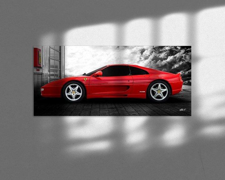 Sfeerimpressie: Ferrari F355 GTS F1 van aRi F. Huber