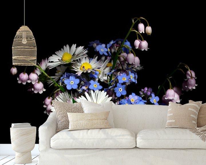 Beispiel fototapete: Ein Blumenstrauß von Corinne Welp