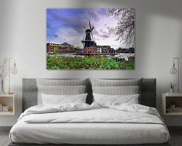 Molen De Adriaan, Haarlem (2020) van Eric Oudendijk