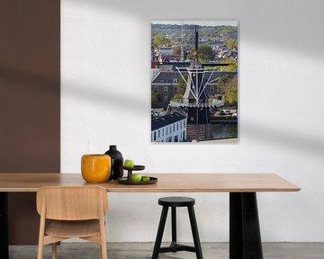 Molen De Adriaan, Haarlem , Nederland (2020) van Eric Oudendijk