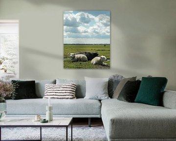 Hollands Polderlandschap van Annelies Martinot