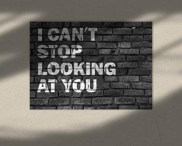 Graffiti für deine Liebe ind schwarz weiß von KalliDesignShop