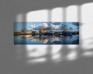 Panorama Haven van Oudeschild