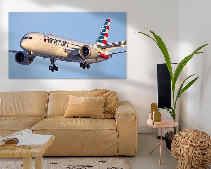 Sfeerimpressie: American Airlines Boeing 787 Dreamliner van Dennis Dieleman