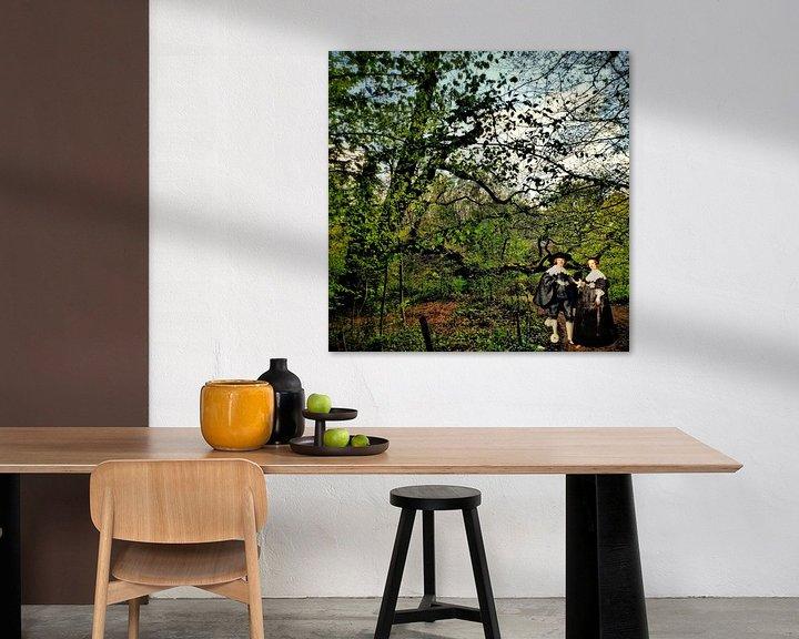 Sfeerimpressie: Rembrandt's Marten en Oopjen op Landgoed Stoutenburg van Ruben van Gogh