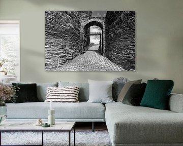 Schloss von La Roche en Ardenne von Bert-Jan de Wagenaar