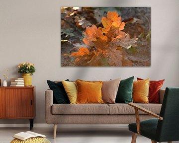 Autumn Leaves van Grietje van der Reijnst-Brak