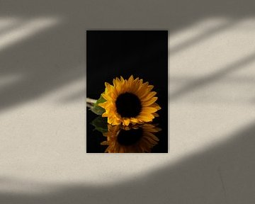 Grote gele zonnebloem van Gaby Hendriksz