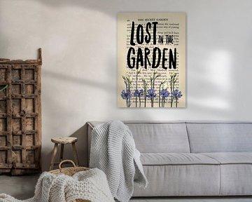 The Secret Garden Gärtner Spruch von KalliDesignShop