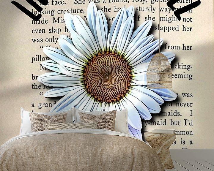 Beispiel fototapete: The Secret Garden Gänseblümchen von KalliDesignShop