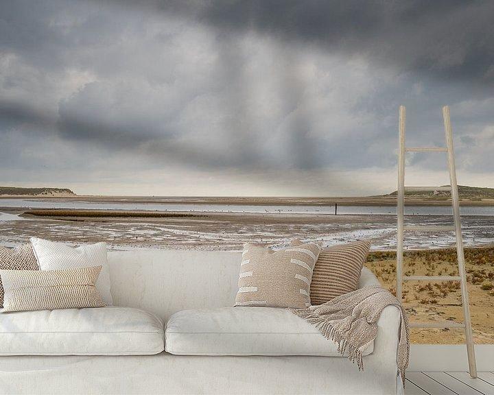 Sfeerimpressie behang: Texel, De slufter van Johanna Blankenstein