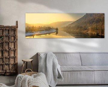 Rivier panorama van Jens Hertel