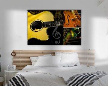 Muziekinstrumenten van Jens Hertel