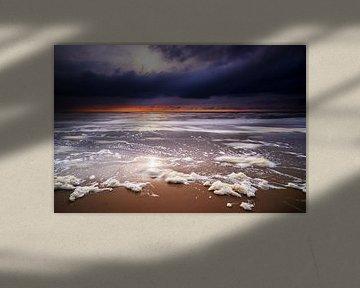 De eigenzinnige Noordzee in al haar schoonheid van Jenco van Zalk