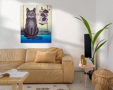 Kat met muizen uitleg van Helmut Böhm