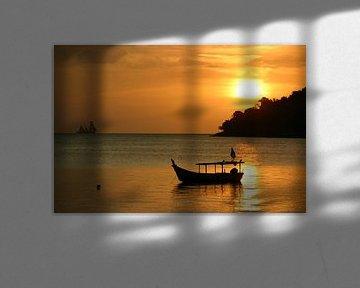 zonsondergang Langkawi von Antwan Janssen
