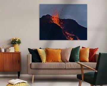 Lavaexplosion von Timon Schneider
