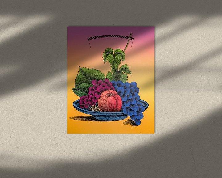 Beispiel: Obstschale mit Obst von Helmut Böhm