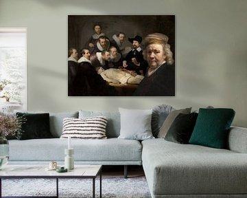 Rembrandt visite la leçon d'anatomie sur Eigenwijze Fotografie
