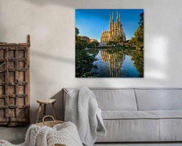 Sagrada Familia in Barcelona von Michael Abid