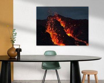 Aktiver Vulkan von Timon Schneider