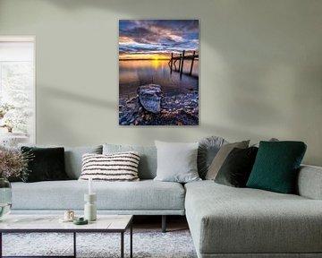 Starnberger See Sonnenuntergang