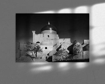 Islamische Khodja Moschee in Chiwa Usbekistan von Yvonne Smits