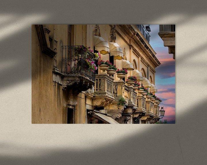 Sfeerimpressie: Sicilian balconies van Costas Ganasos