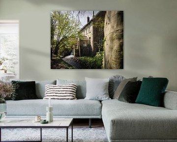 Huis aan de rivier in Limburg van Luis Boullosa