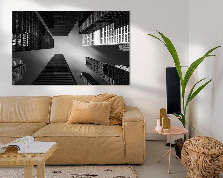Sfeerimpressie: Toronto Fine Art Architecture van Photo Wall Decoration