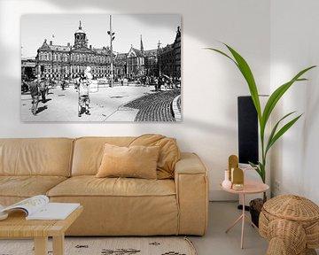 Dam Square Amsterdam Niederlande von Hendrik-Jan Kornelis