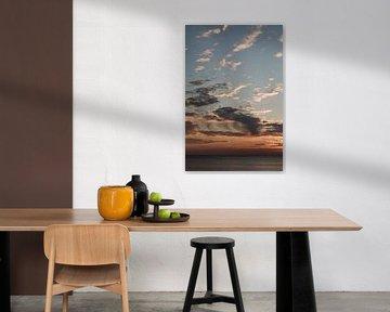 Zonsondergang Nederland van Amber den Oudsten