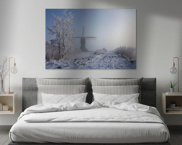 Sfeerimpressie: winter in holland van Ilya Korzelius