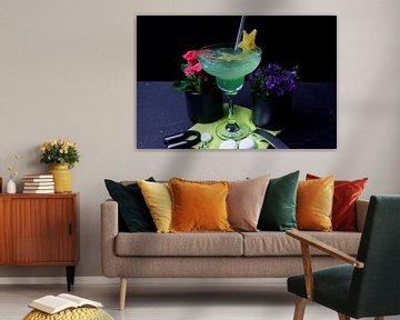 Zitrone trifft Frucht und Curacao von Babetts Bildergalerie