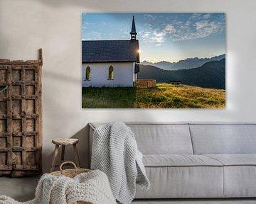 Kapelle in den Bergen von Martijn Joosse