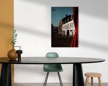 Brouwerij in Maastricht met zonsondergang | Rode details | Een warme zomerse dag van eighty8things