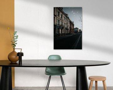Stad Maastricht Wyck in Nederland | Romantische architectuur | Stedenfotografie print van eighty8things