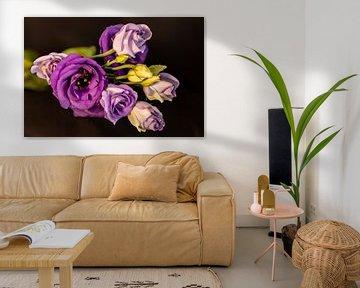 Paarse Bloemen van Adelheid Smitt