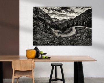 Silvretta Alpenstraße von Rob Boon