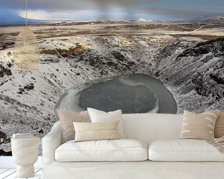Sfeerimpressie behang: Kerio vulkaan van Antwan Janssen