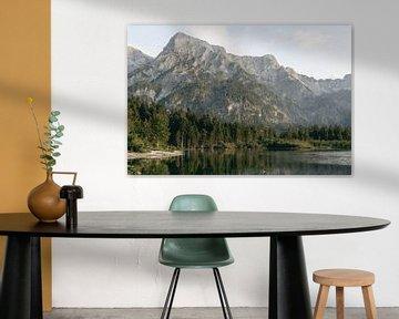 Bergmeer in de Oostenrijkse Alpen van Sophia Eerden