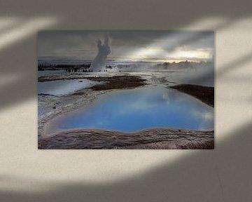 Uitbarsting geiser van Antwan Janssen