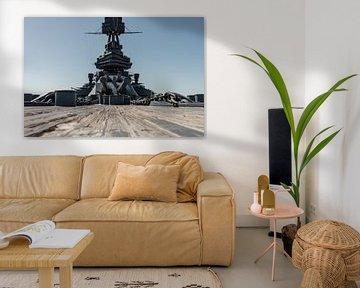 USS Texas (BB 35), ancien cuirassé de la marine américaine qui a servi pendant la première et la deu sur Jaap van den Berg
